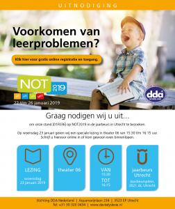 Uitnodiging voor de NOT van DDA Nederland en DLS